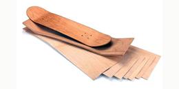 Τι ξύλο χρησιμοποιούν για τις σανίδες skateboard