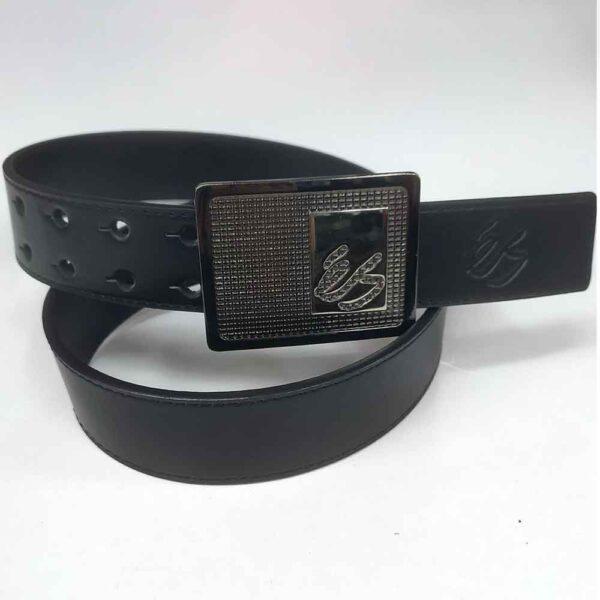 Ζώνη ES Nailed Belt Black