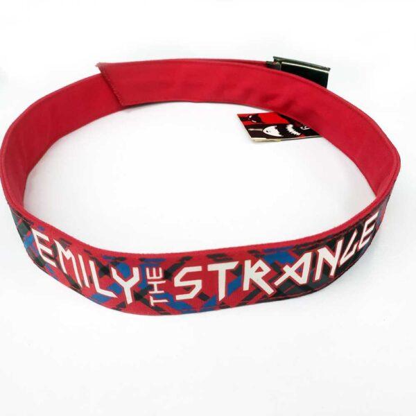 Ζώνη Emily The Strange Belt Get Lost Red