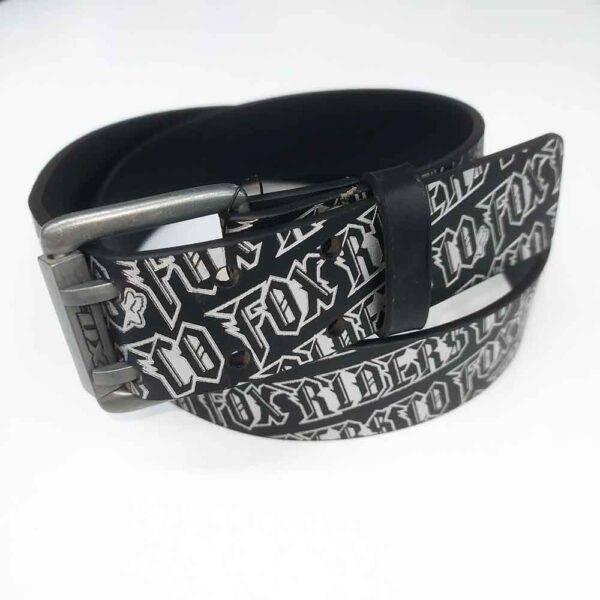 Ζώνη Fox Loudmouth Belt 57495 Black-Silver