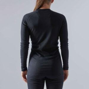 Craft Γυναικείο Ισοθερμικό Core Warm Baselayer Sετ Black