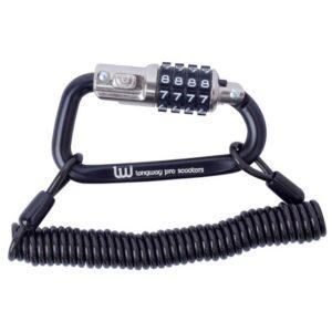 Κλειδαριά Longway Carabiner Lock Black