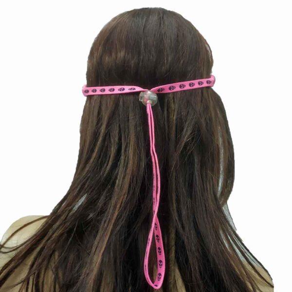 Κορδονάκι για γυαλιά Tobby Skulls Pink