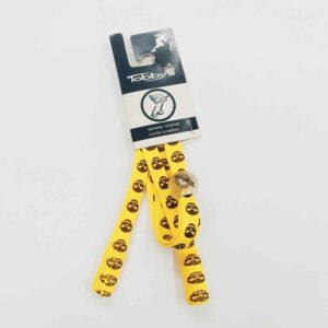 Κορδονάκι για γυαλιά Tobby Skulls Yellow