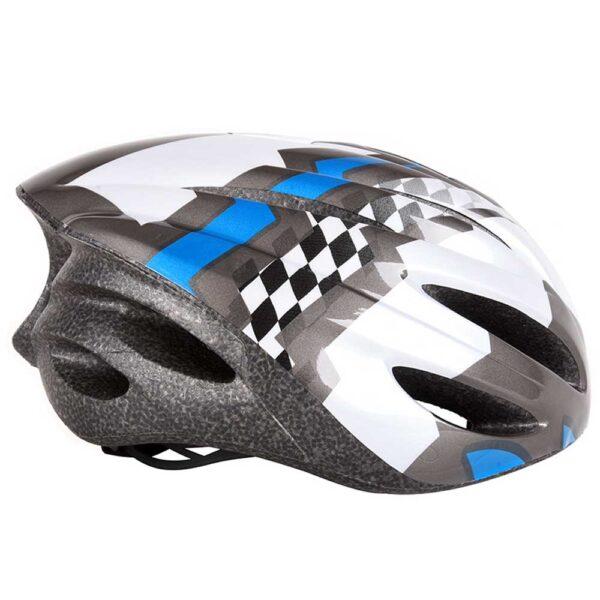 Κράνος ποδηλάτου αυξομειούμενο με φως ΑΘΛΟΠΑΙΔΙΑ μπλε