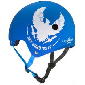 Κράνος Triple Eight Dual Certified Mike Vallely Skate Helmet Blue