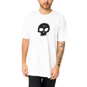 Μπλουζάκι Single Skull S/S Tee white