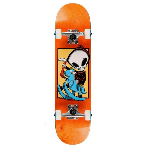 Blind Reaper Carzy Horse Yth FP Orange 7,25''