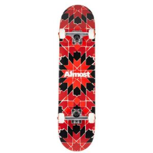 Τροχοσανίδα Almost Tile Pattern Red 7,75""