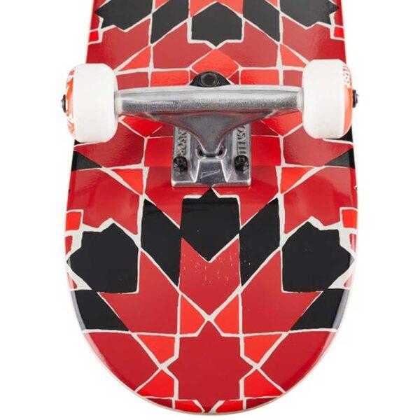 Τροχοσανίδα Almost Tile Pattern Red 7,75''