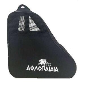 Τσάντα πατινιών τριγωνική Αθλοπαιδιά μαύρη