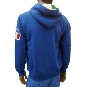 Φούτερ zipper με κουκούλα United Cotton MJ6 Rua