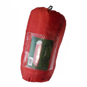 Sleeping Bag SRD-001 με κεφαλή Red