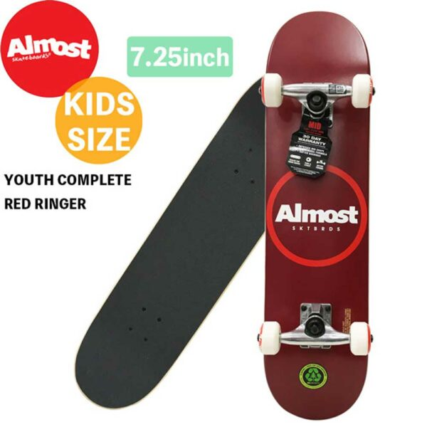 Τροχοσανίδα Almost Red Ringer Youth First Push 7.25''