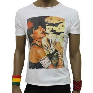 T-Shirt Bigbong Lady In War Beige