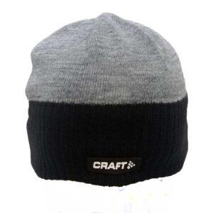 Craft Beanie Bormio Hat GreyBlack