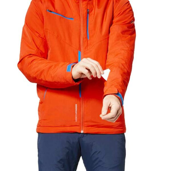 northfinder jacket orange