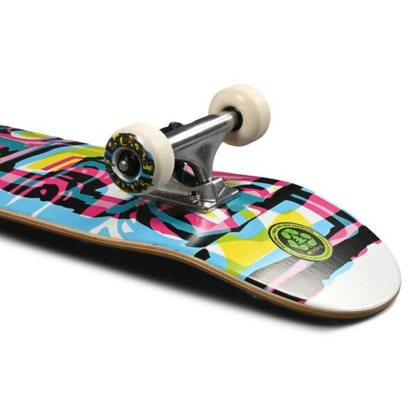 Blind-Logo-Glitch-Youth-FP-7.25″-Complete-Skateboard-White