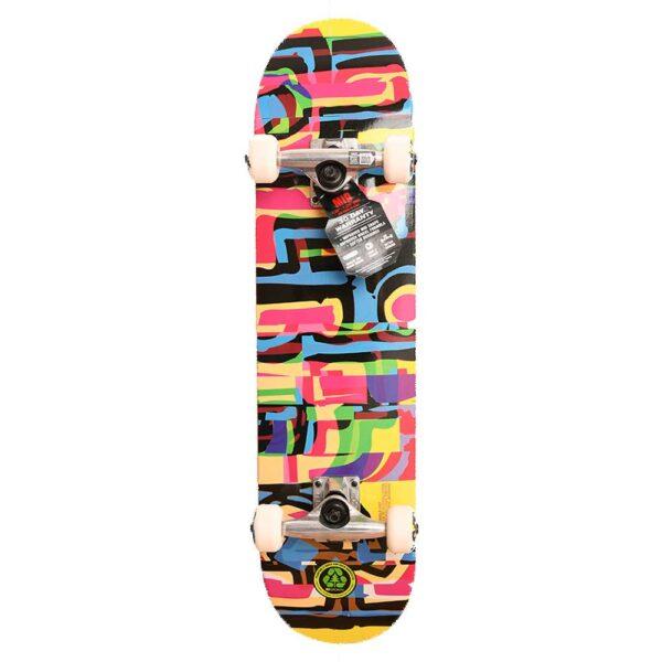 Blind-Logo-Glitch-Youth-FP-Complete-Skateboard-Multi