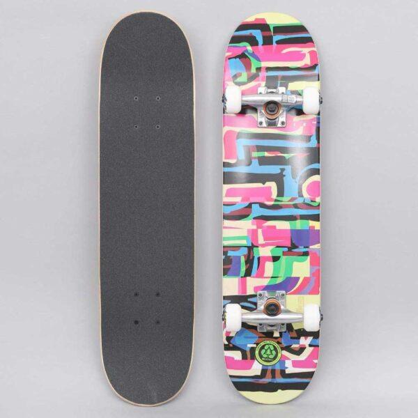 Blind-Logo-Glitch-Youth-FP-Complete-Skateboard-Multi-both