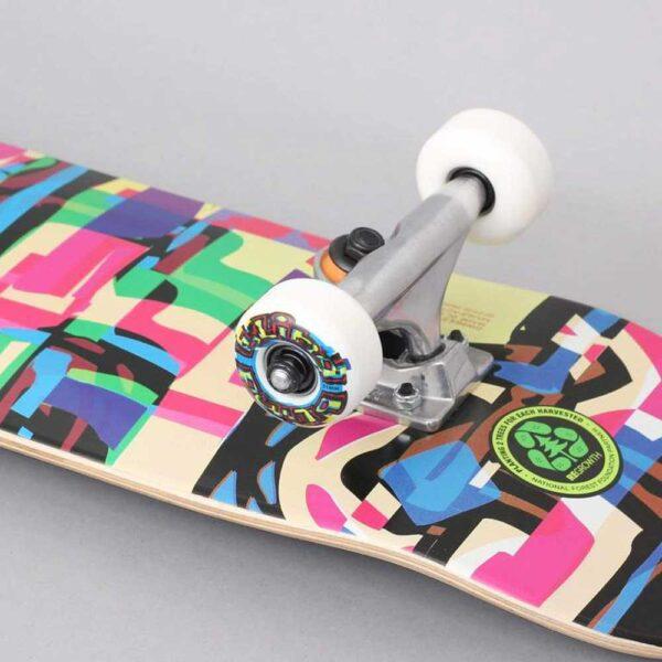 Blind-Logo-Glitch-Youth-FP-Complete-Skateboard-Multi-close-1