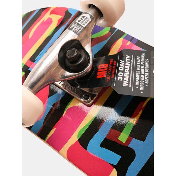 Blind-Logo-Glitch-Youth-FP-Complete-Skateboard-Multi-close