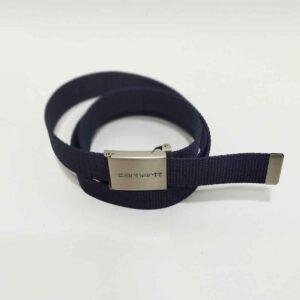 Belt Carhartt Clip Chrome Navy