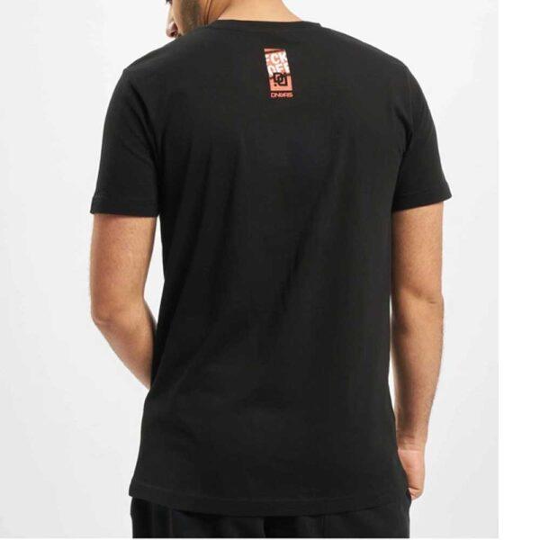 T-shirt Dangerous Fck Off Black