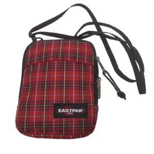 EASTPAK SHOULDER BAG K724 BUDDY CHECKS RED