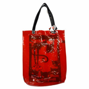 Emily the Strange Tote bag Clear Red