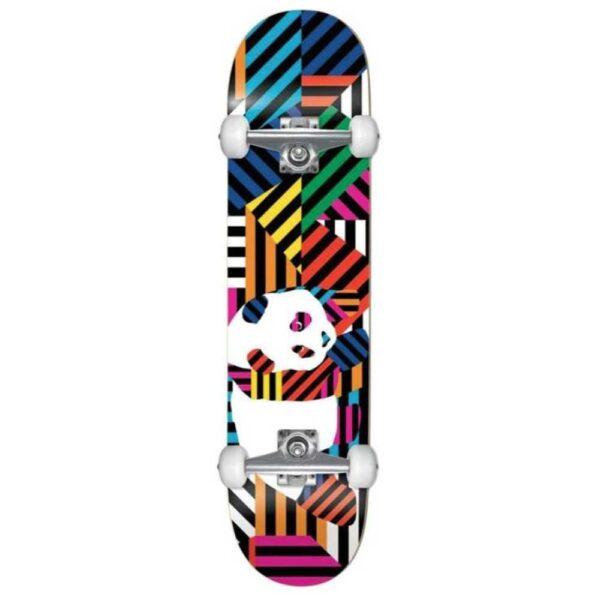 Τροχοσανίδα Panda Stripes Resin Comp.soft wheels 7.75''