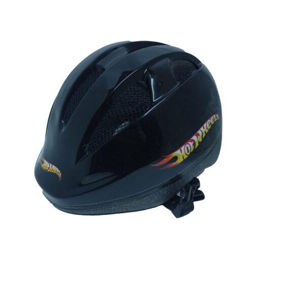 Κράνος παιδικό ρυθμιζόμενο Hot Wheels Big Logo black