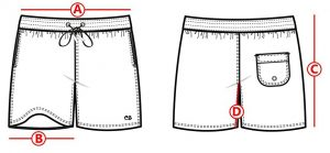 How-to-measure-a-mens-swimmshort