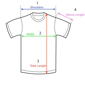 How to measure a t-shirt