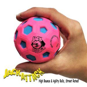 Μπαλάκι αναπήδησης Jack Attack High Bounce Rubber Fuxia