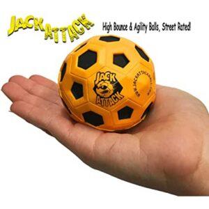 Μπαλάκι αναπήδησης Jack Attack High Bounce Rubber Orange