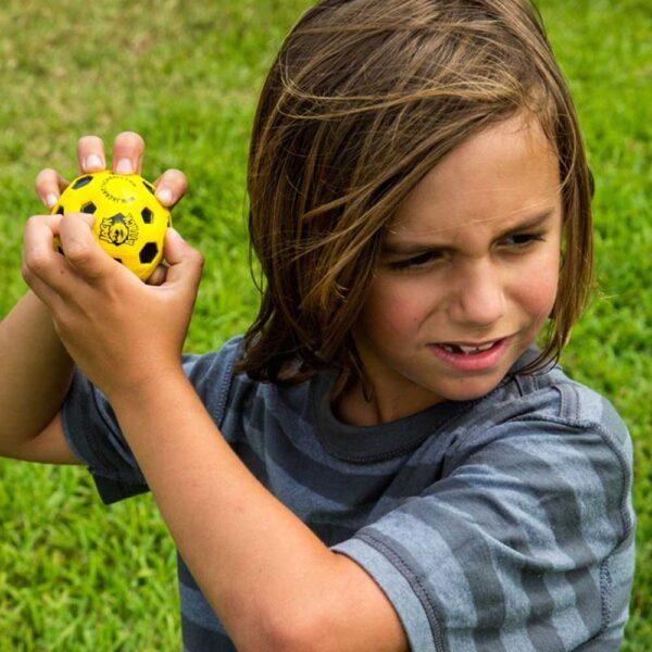 Μπαλάκι αναπήδησης Jack Attack High Bounce Rubber Yellow