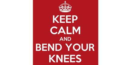 Ασκήσεις για να μάθουμε να έχουμε λυγισμένα τα γόνατά μας.