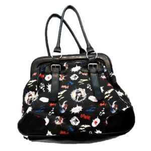 EMILY THE STRANGE LIGHTEN STRANGE HANDBAG BLACK