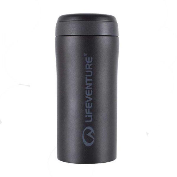 Θερμός Lifeventure Thermal Mug Matte Black 300ml