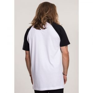 T-Shirt Merchcode Ramones Circle Raglan Tee White