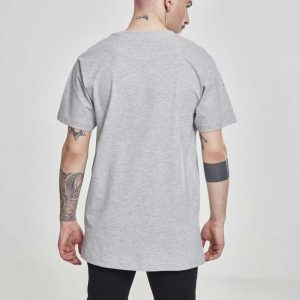 T-Shirt Merchcode Popeye Barber Shop Tee Heather Grey
