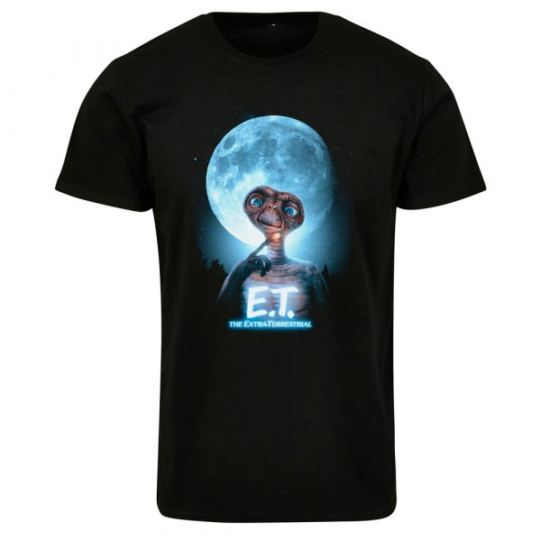 T-Shirt Merchcode E.T. Face Tee Black
