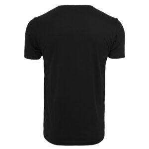 T-Shirt Mister Tee NASA Moon Tee Black