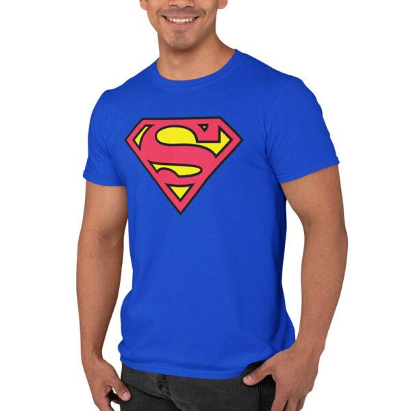 T-Shirt Superman Blue