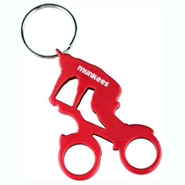 Munkees-Biker-keyring-red