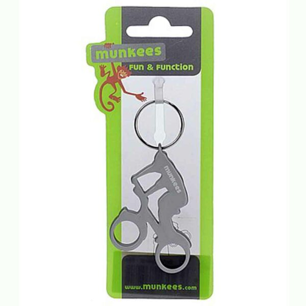 Munkees-Biker-keyring-silver-2