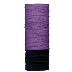 Neckwarmer Polo Multi Scarf Fleece Purple