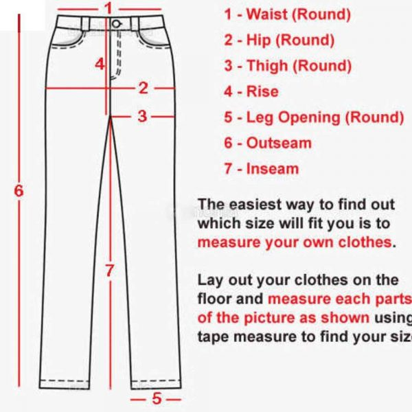 How to measure a pant