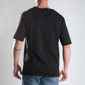 T-shirt Prophete Gunmetal Black